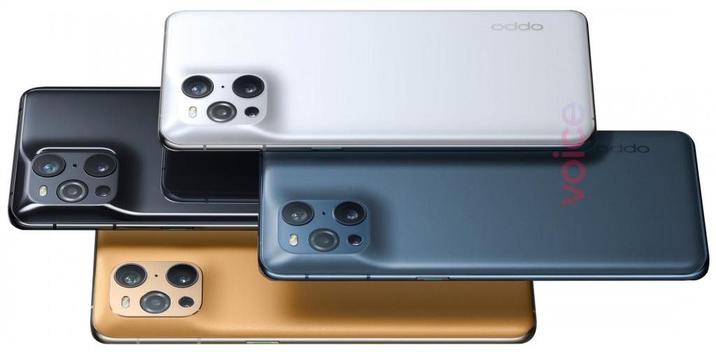 Oppo Find X3 Pro xuất hiện trong hình ảnh render chính thức với cụm camera độc đáo ảnh 2