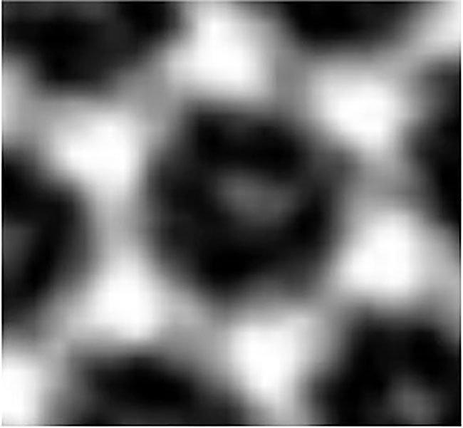 Những mảng sáng trên tấm hình này đó chính là những phân tử carbon dioxide bị kẹt bên trong bộ khung kim loại hữu cơ.