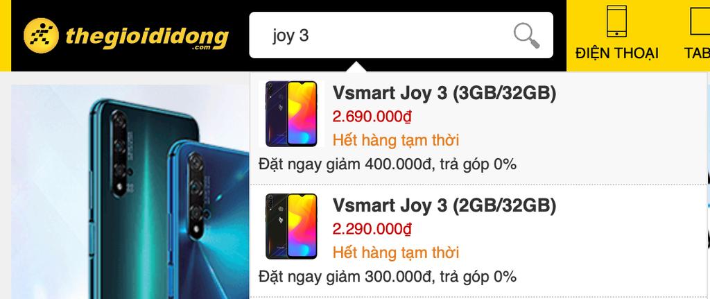 Vsmart Joy 3 đã được bán được 12000 máy chỉ trong 14 giờ ra mắt ảnh 4