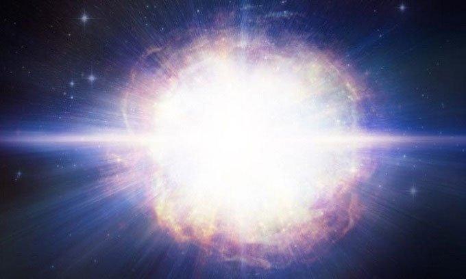 Mô phỏng siêu tân tinh SN2016aps.