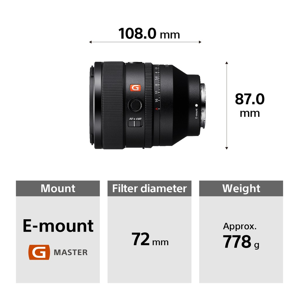 Sony Electronics ra mắt ống kính E-Mount - FE 50mm F1.2 G Master giá 50 triệu ảnh 6