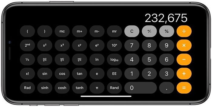 Máy tính khoa học (Scientific calculator)