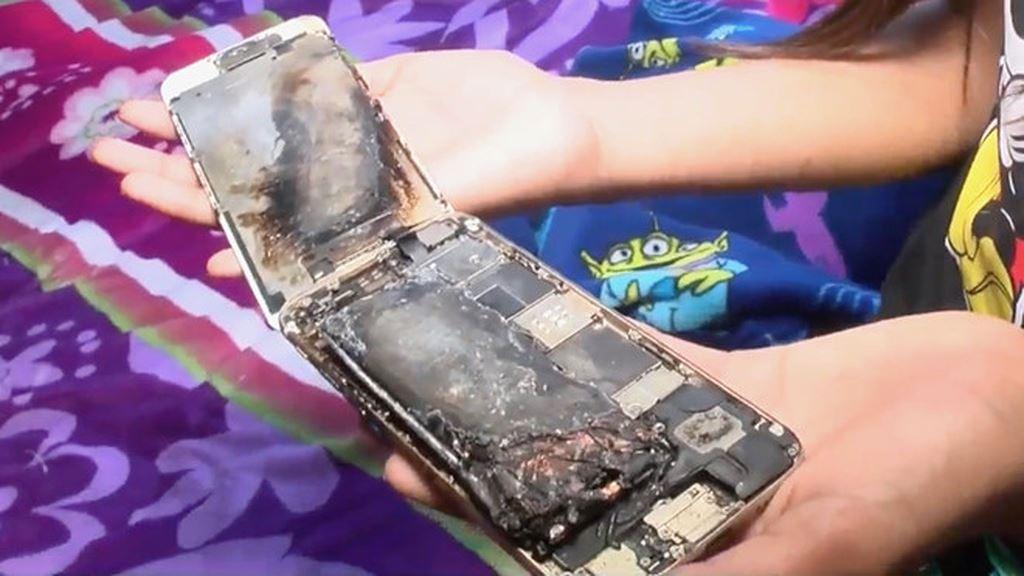 iPhone 6 phát hỏa trên tay bé gái 11 tuổi, Apple đang điều tra ảnh 1