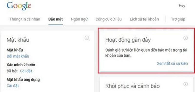 Dau hieu Gmail cua ban dang bi xam nhap trai phep-Hinh-3