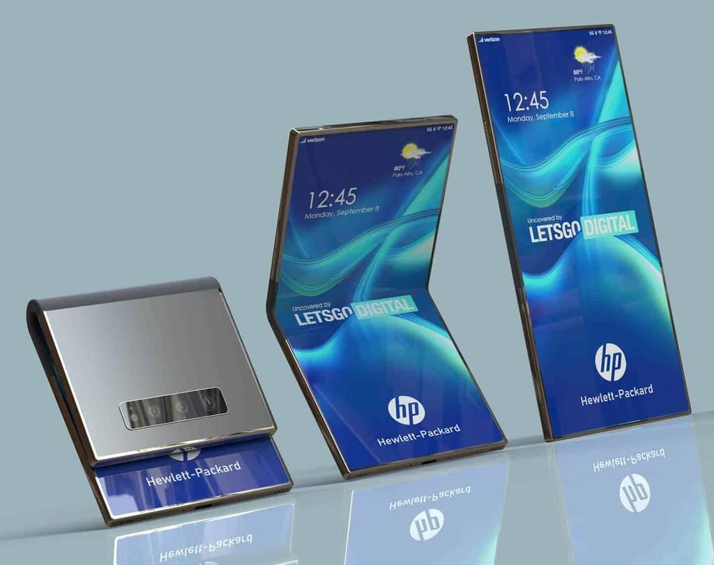 """Smartphone màn hình gập HP """"lộ"""" ảnh render đẹp hút hồn ảnh 5"""