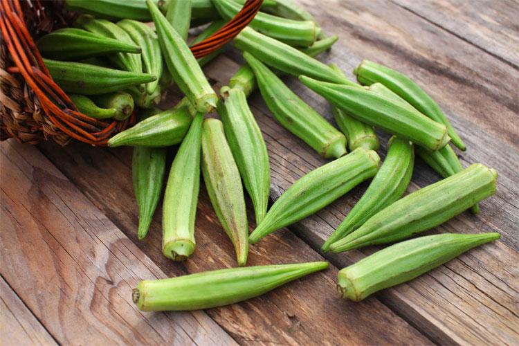 Chất nhầy trong đậu bắp có tác dụng làm giảm hàm lượng cholesterol xấu trong máu