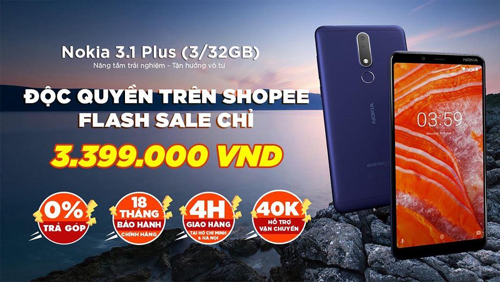 Nokia 3.1 Plus chính thức lên kệ thị trường Việt giá 3.890.000 VND ảnh 2