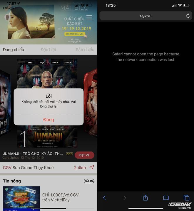 Ứng dụng sập, website tê liệt, CGV đổ lỗi do phim của Chi Pu hot như Avengers: Endgame - Ảnh 1.