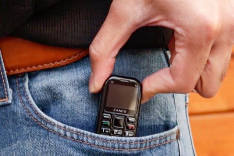 Điện thoại nhỏ nhất thế giới, pin 7 ngày
