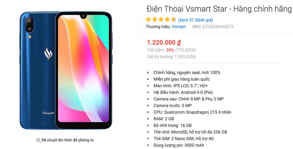 Vsmart Star hy sinh lợi nhuận, mang Tết ấm tới người dùng Việt  ảnh 3