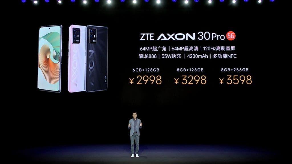 ZTE Axon 30 Ultra và 30 Pro ra mắt: flagship giá dưới 1.000 USD, ba camera 64MP ảnh 7