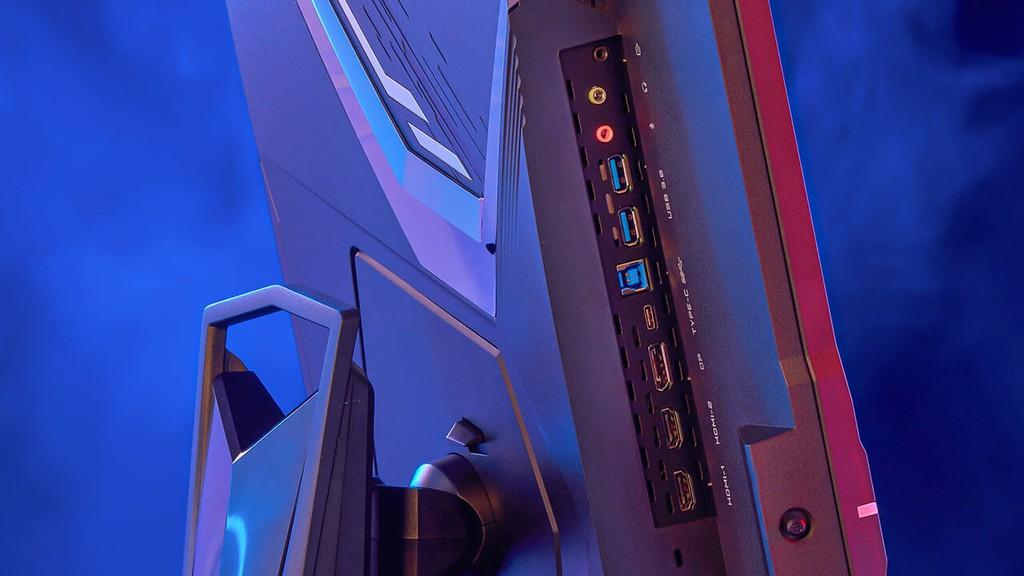 Gigabyte công bố ba màn hình chơi game có HDMI 2.1, kích cỡ TV ảnh 5