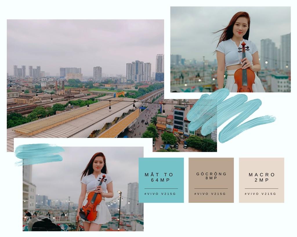 Cùng Qinie Violin khui hộp và trải nghiệm nhanh vivo V21 5G  ảnh 7