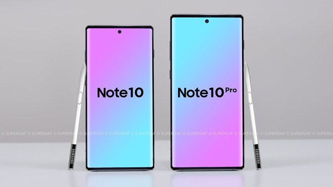 galaxy note 10 se ra mat vao cuoi thang 8, iphone 11