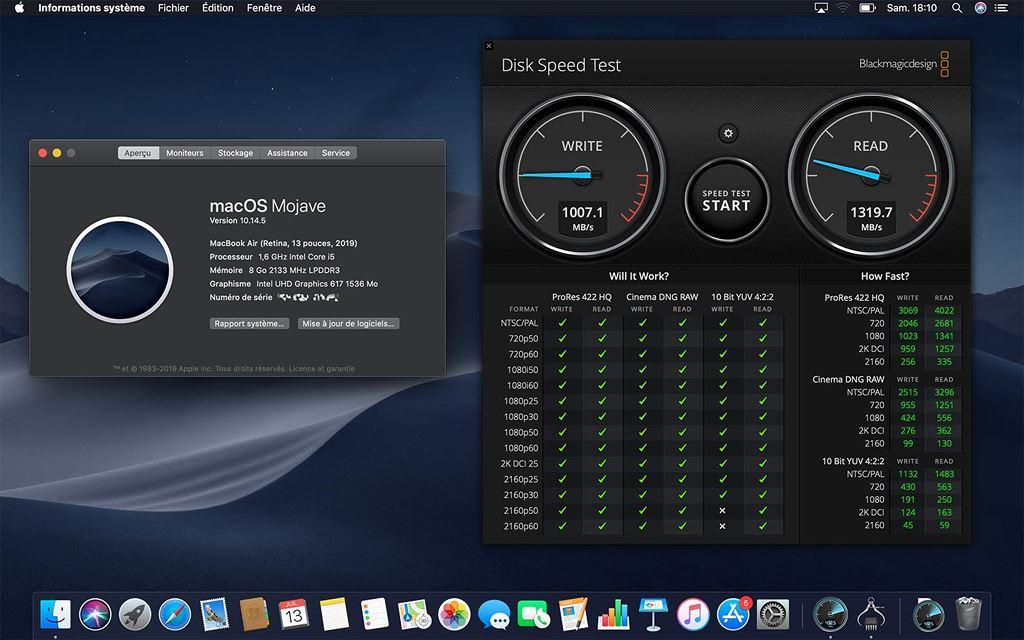 MacBook Air 2019 rẻ hơn nhưng SSD cũng chậm hơn 35% so với đời 2018 ảnh 2