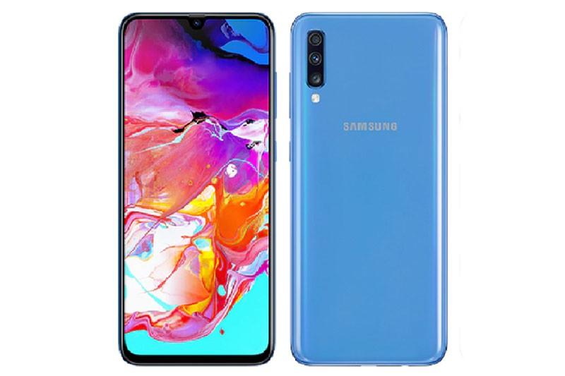 Samsung Galaxy A70 voi 3 camera sau giam gia 2 trieu dong