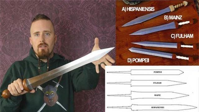 Loại kiếm này có chiều dài khoảng 60 – 85cm