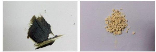Chất ức chế sau khi tổng hợp và trích ly: cao lá giang ít phân cực và Ce3.