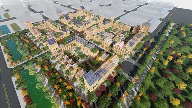 Thiết kế đặc biệt sẽ giúp đáp ứng nhu cầu của một thành phố nếu như bị phong tỏa trong đại dịch.