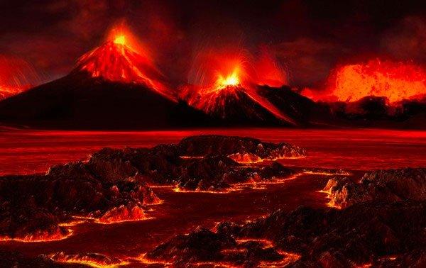 Hoạt động núi lửa dẫn đến cuộc Đại Tuyệt chủng lớn nhất lịch sử.