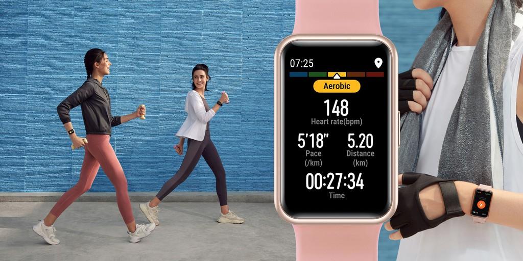 Đồng hồ Huawei Watch Fit lên kệ giá 3,3 triệu ảnh 5