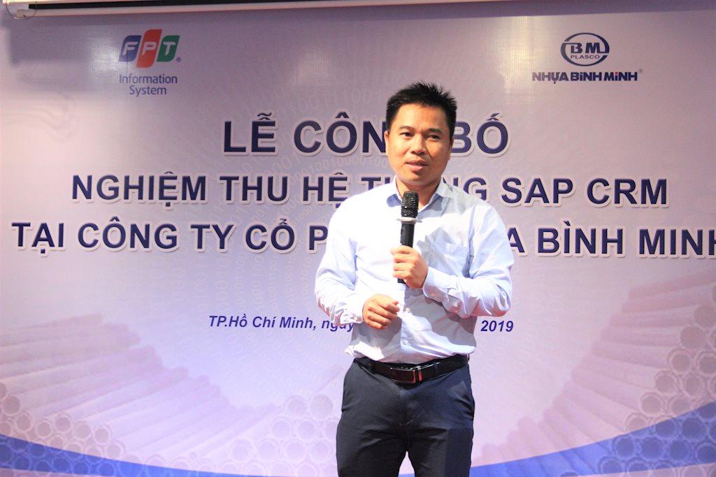 FPT IS giúp Nhựa Bình Minh nâng tầm quản trị với hệ thống quản lý quan hệ khách hàng CX – SAP
