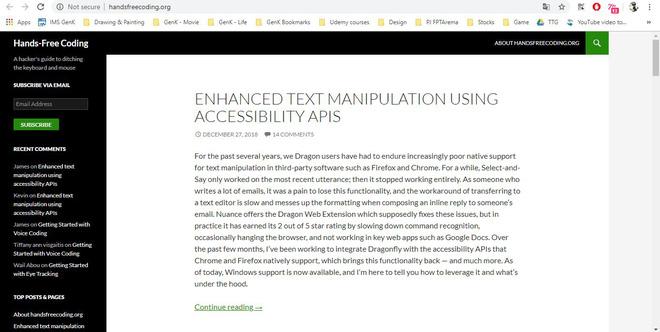 Không thể gõ phím vì bệnh hiểm nghèo, anh kĩ sư Google tự chế phần mềm nhận diện giọng nói, chỉ cần ra lệnh là máy tính tự viết code thay mình - Ảnh 8.