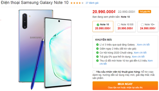 nhung smartphone android giam gia manh ngay tet ong tao hinh anh 2