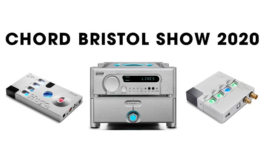 Chord Electronics trình diễn loạt siêu phẩm hi-end tại Bristol Show cuối tuần này ảnh 1