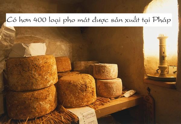 Pho mát Camembert được mệnh danh là vua pho mát của Pháp.