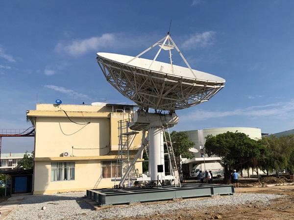 Trạm phát sóng vệ tinh VTC dự phòng thứ 2 tại Ninh Thuận.
