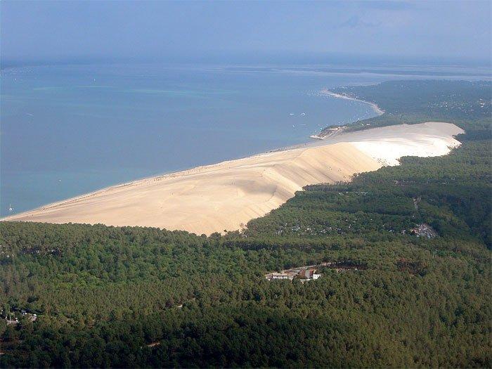 Sa mạc thu nhỏ giữa lòng nước Pháp.
