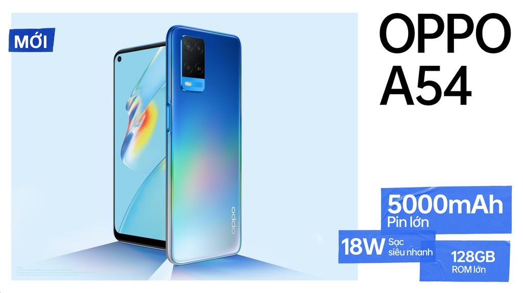 OPPO A54 chính thức lên kệ, pin lớn 5000mAh, sạc siêu nhanh giá 4,7 triệu ảnh 3