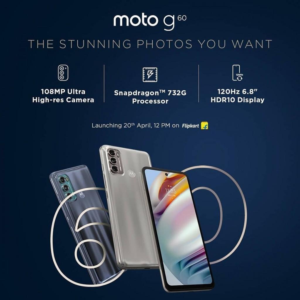 Motorola hé lộ các tính năng chính của Moto G60 và Moto G40 Fusion ảnh 1