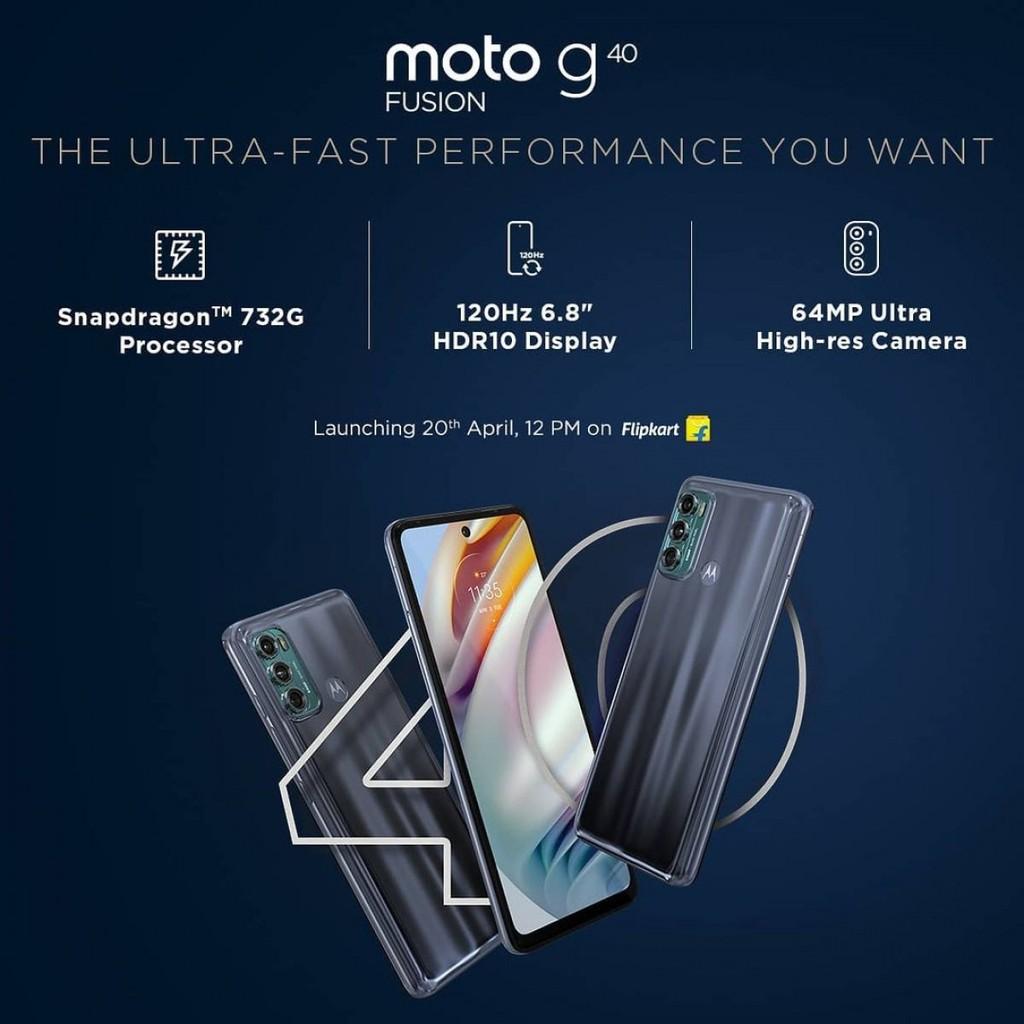 Motorola hé lộ các tính năng chính của Moto G60 và Moto G40 Fusion ảnh 2