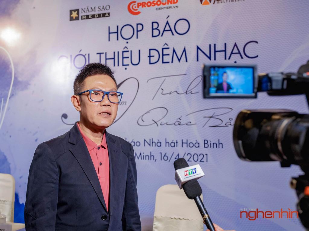 """Đêm nhạc """"Bình Yên"""" kỷ niệm 30 năm sáng tác của Nhạc sĩ Quốc Bảo ảnh 1"""