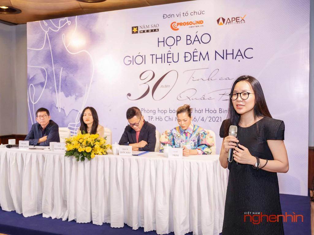 """Đêm nhạc """"Bình Yên"""" kỷ niệm 30 năm sáng tác của Nhạc sĩ Quốc Bảo ảnh 2"""