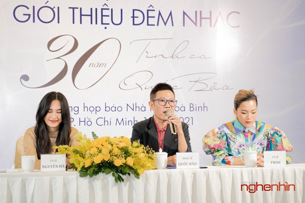 """Đêm nhạc """"Bình Yên"""" kỷ niệm 30 năm sáng tác của Nhạc sĩ Quốc Bảo ảnh 4"""