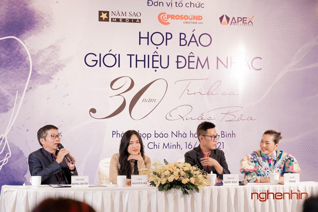 """Đêm nhạc """"Bình Yên"""" kỷ niệm 30 năm sáng tác của Nhạc sĩ Quốc Bảo ảnh 5"""