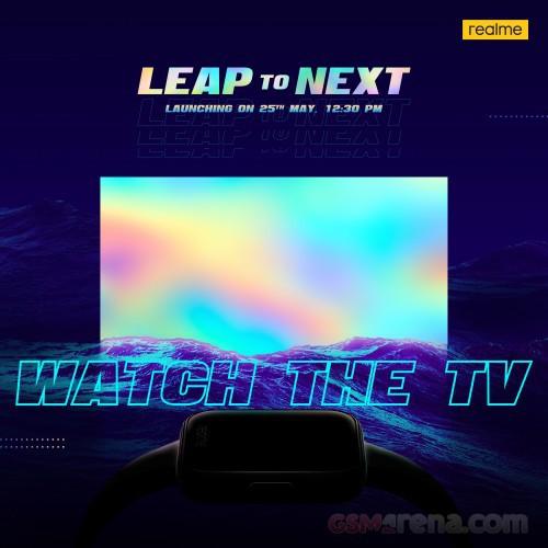 Smartwatch và TV thông minh đầu tiên của Realme ra mắt ngày 25/5 ảnh 1