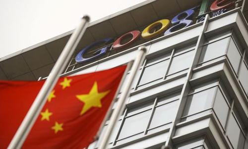 Sau Apple, den luot Google ruc rich roi Trung Quoc