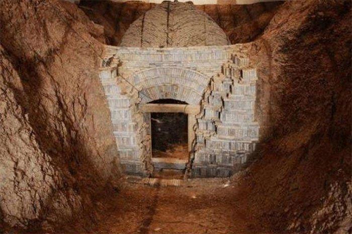 Ngôi mộ với niên đại hàng nghìn năm của triều đại Đông Tấn