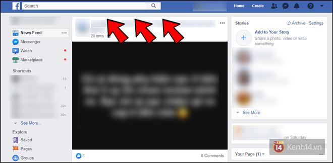 Facebook đột nhiên mất khung đăng status, may sao vẫn còn một cách cứu vãn tình thế - Ảnh 1.