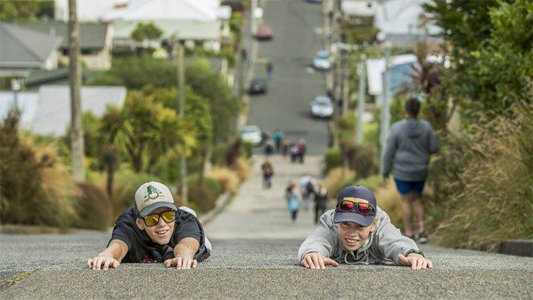 Con đường Baldwin ở Dunedin.