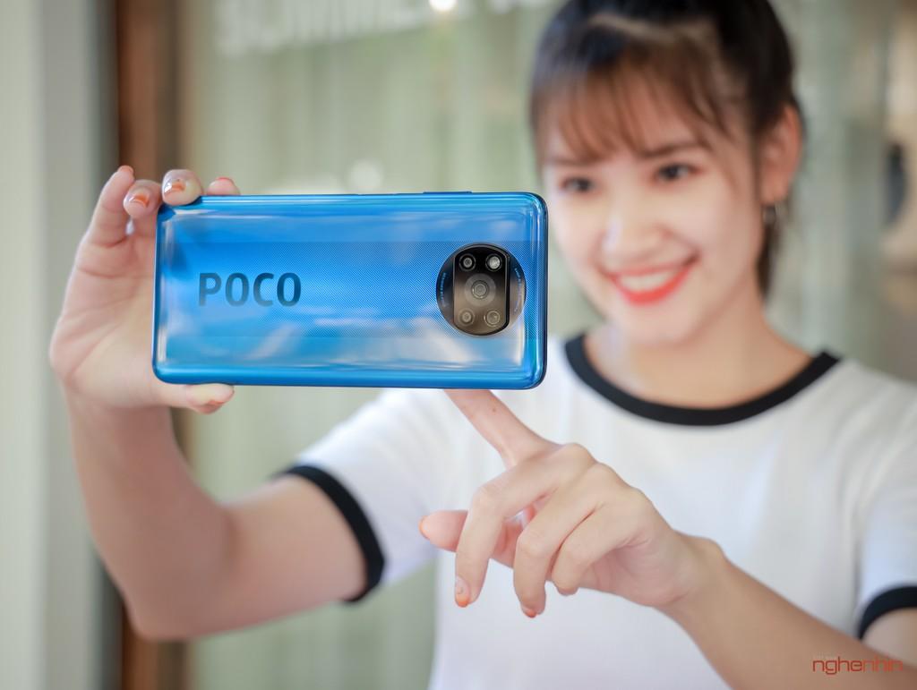 Trên tay smartphone gaming POCO X3 NFC: màn 120Hz, Snapdragon 732G, pin 5.160 mAh, giá 7 triệu ảnh 11