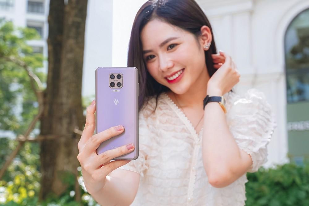 Vsmart Aris Pro bất ngờ ra mắt - điện thoại camera ẩn đầu tiên tại Việt Nam giá 10 triệu ảnh 2