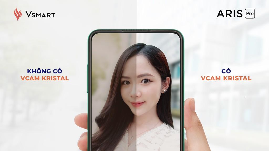 Vsmart Aris Pro bất ngờ ra mắt - điện thoại camera ẩn đầu tiên tại Việt Nam giá 10 triệu ảnh 3