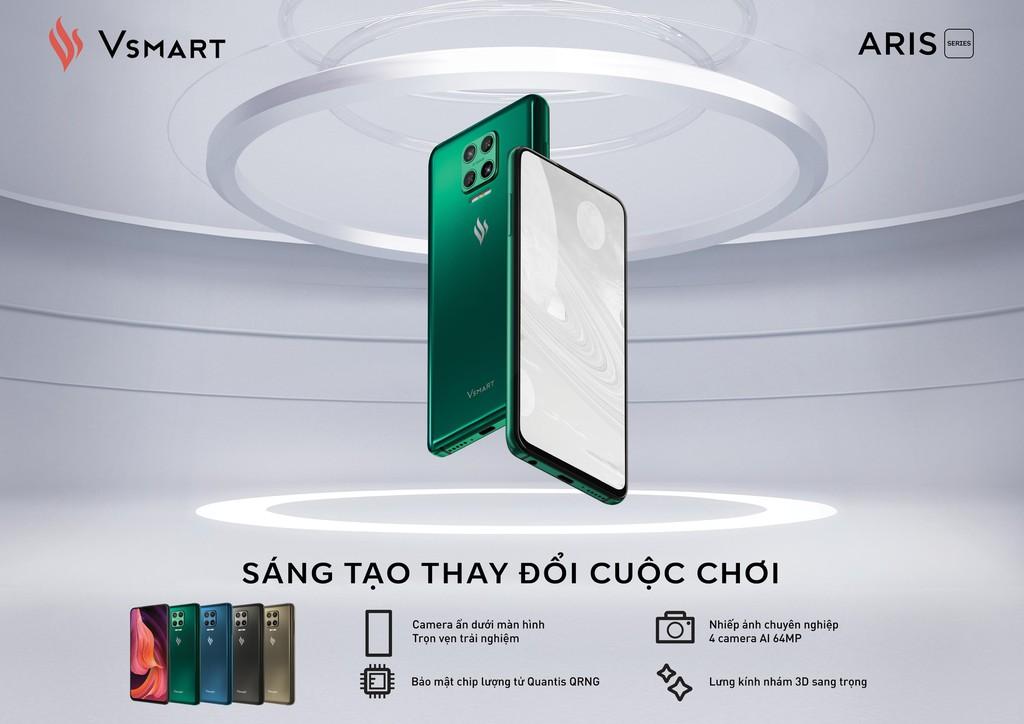Vsmart Aris Pro bất ngờ ra mắt - điện thoại camera ẩn đầu tiên tại Việt Nam giá 10 triệu ảnh 5