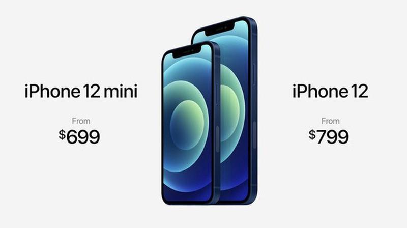Gia iPhone 12 thap nhat khong phai 699 USD ma tan 729 USD