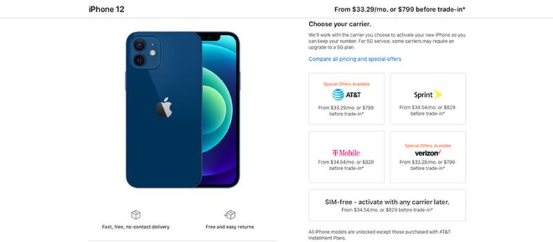 Gia iPhone 12 thap nhat khong phai 699 USD ma tan 729 USD-Hinh-3